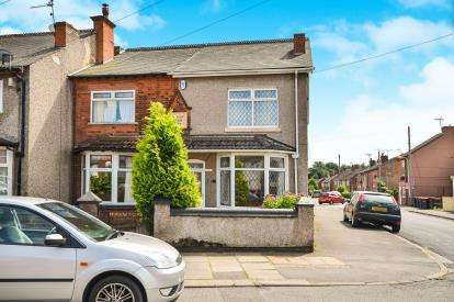 3 Bedrooms End Of Terrace House for sale in Garden Lane, Sutton-In-Ashfield, Nottinghamshire, Notts