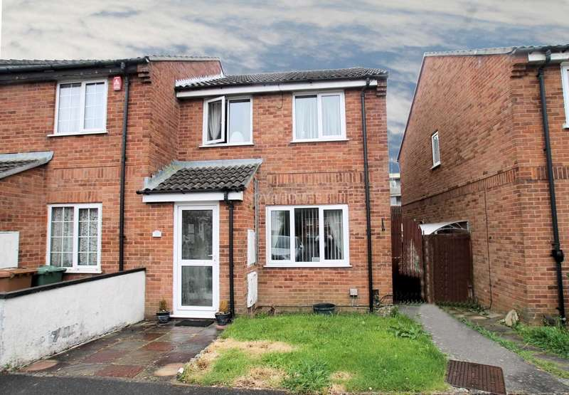 3 Bedrooms End Of Terrace House for sale in Witham Gardens, Efford, PL3 6ES