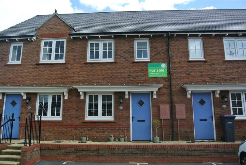 2 Bedrooms Terraced House for sale in Maes Y Felin, New Inn, Pontypool, NP4