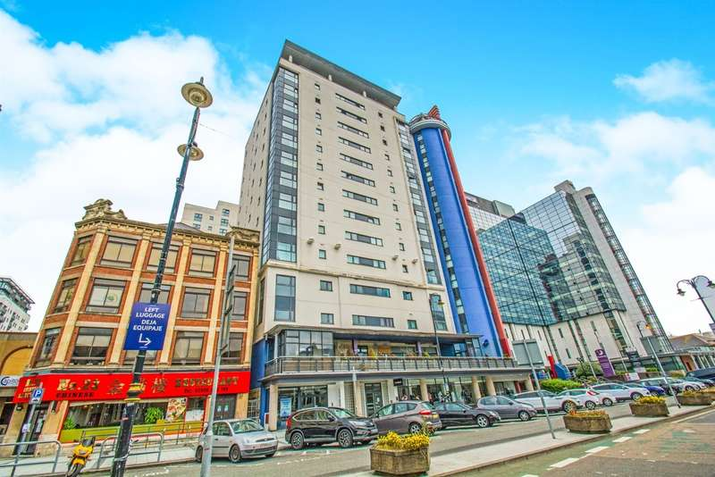 2 Bedrooms Apartment Flat for sale in Churchill Way, Cardiff