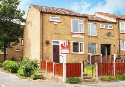 3 Bedrooms Town House for sale in Garland Close, Westfield, Sheffield, South Yorkshire