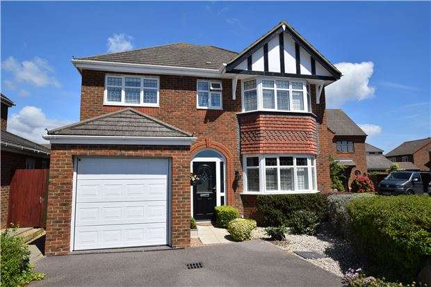 4 Bedrooms Detached House for sale in 37 Hornbeam Avenue, BEXHILL-ON-SEA, East Sussex, TN39 5JQ
