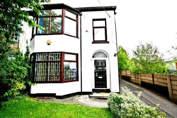 Semi Detached House for sale in Bury New Rd, Prestwich