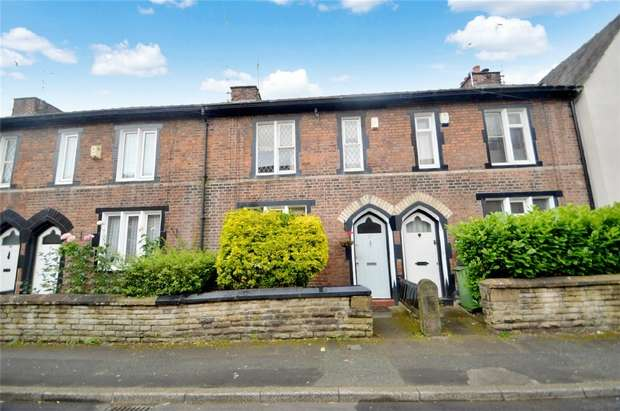 2 Bedrooms Cottage House for sale in Hallam Street, Heaviley, Stockport, Cheshire
