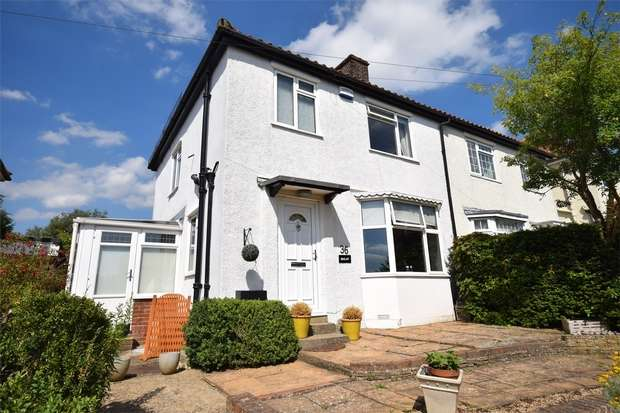 3 Bedrooms Semi Detached House for sale in 36 Quakers Hall Lane, Sevenoaks, Kent