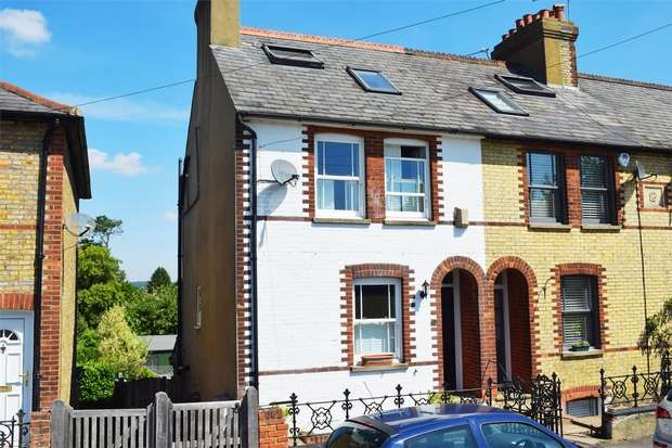 4 Bedrooms End Of Terrace House for sale in Chipstead Lane, Riverhead, Sevenoaks, Kent