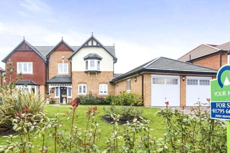 5 Bedrooms Detached House for sale in Carey Close, Eastchurch, Sheerness, ME12