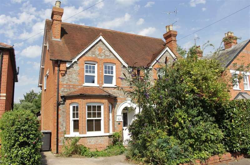4 Bedrooms Semi Detached House for sale in Horseshoe Road, Pangbourne, Reading, RG8
