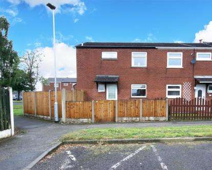 3 Bedrooms End Of Terrace House for sale in Blyth Close, Whiston, Rotherham, South Yorkshire
