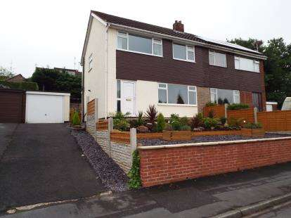 3 Bedrooms Semi Detached House for sale in Cliffe Drive, Whittle-Le-Woods, Chorley, Lancashire, PR6