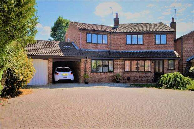 4 Bedrooms Detached House for sale in Chamberlain Close, Cubbington, Leamington Spa, Warwickshire