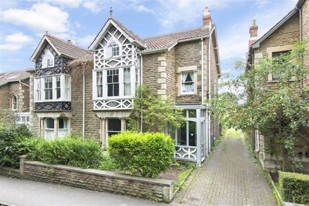 5 Bedrooms Semi Detached House for sale in Somerset Road, Frome