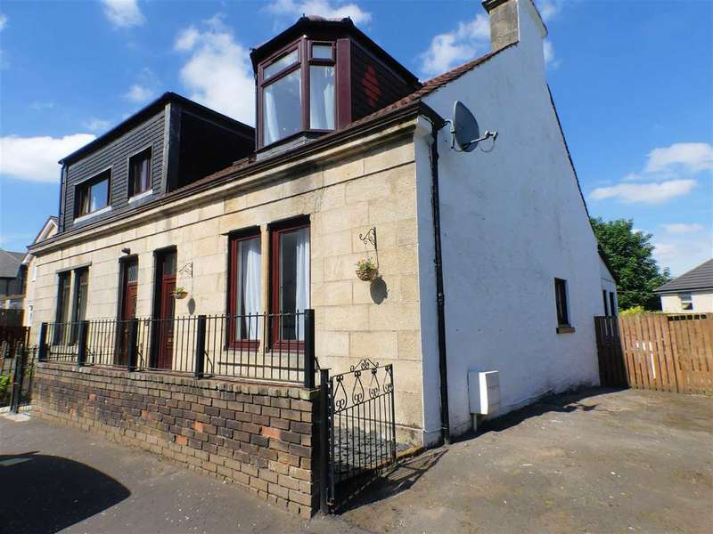 3 Bedrooms Semi Detached House for sale in Gertrude Place, Barrhead, GLASGOW