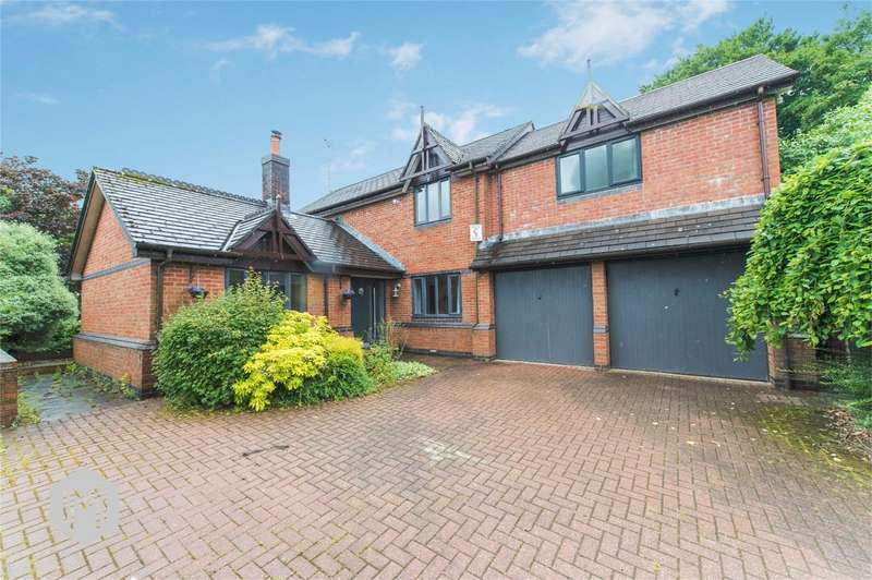 4 Bedrooms Detached House for sale in Ravens Wood, Heaton, Bolton, Lancashire