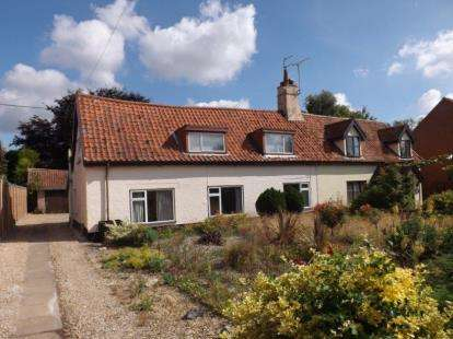 3 Bedrooms Semi Detached House for sale in Honingham, Norwich, Norfolk