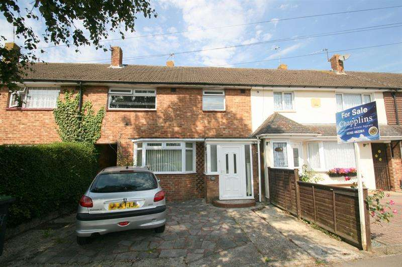 3 Bedrooms Terraced House for sale in Moorgreen Road, Havant