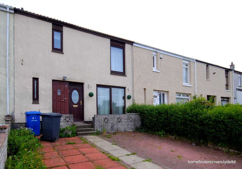 3 Bedrooms Terraced House for sale in Glenside Road, Port Glasgow