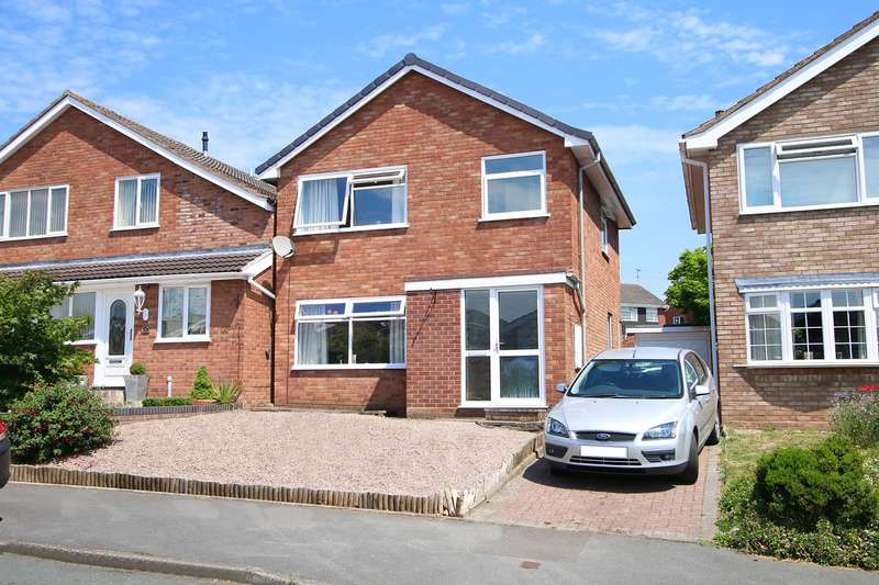 3 Bedrooms Detached House for sale in Shakespeare Drive, Kidderminster, DY10