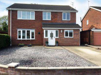 4 Bedrooms Detached House for sale in Glenwood Grove, Lincoln, Lincolnshire, .