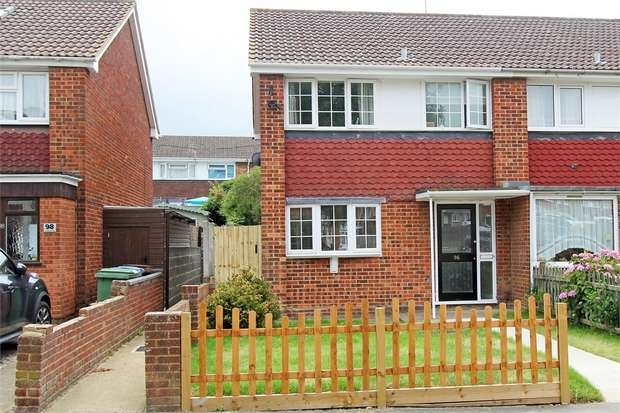 3 Bedrooms Semi Detached House for sale in Coombe Drive, Sittingbourne, Kent