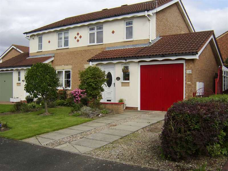 3 Bedrooms Semi Detached House for sale in Runcie Road, Bowburn, County Durham