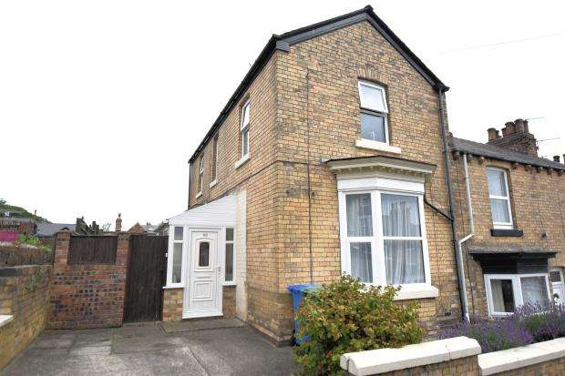 3 Bedrooms End Of Terrace House for sale in Highfield, Falsgrave, Scarborough, YO12 4AN