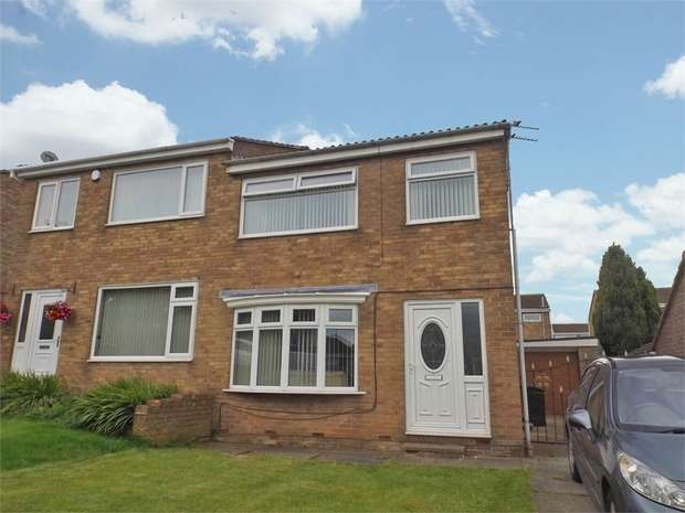 3 Bedrooms Semi Detached House for sale in Wychgate, Middlesbrough, North Yorkshire