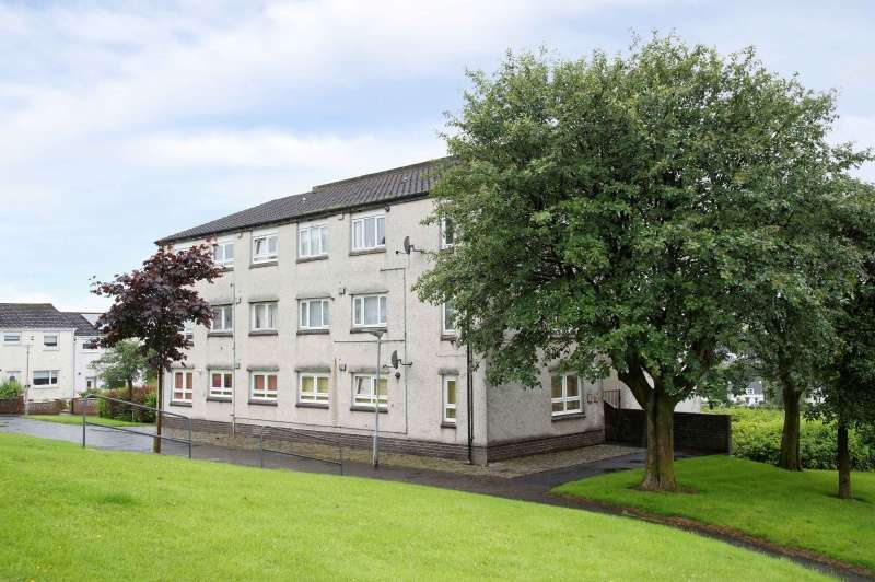 2 Bedrooms Flat for sale in Ladyton Estate, Bonhill, Alexandria, West Dunbartonshire, G83 9DJ