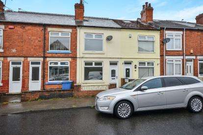3 Bedrooms Terraced House for sale in Broxtowe Drive, Mansfield, Nottinghamshire
