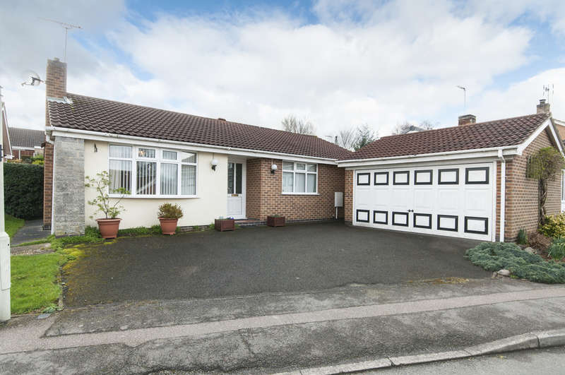 2 Bedrooms Detached Bungalow for sale in Campion Hill, Castle Donington