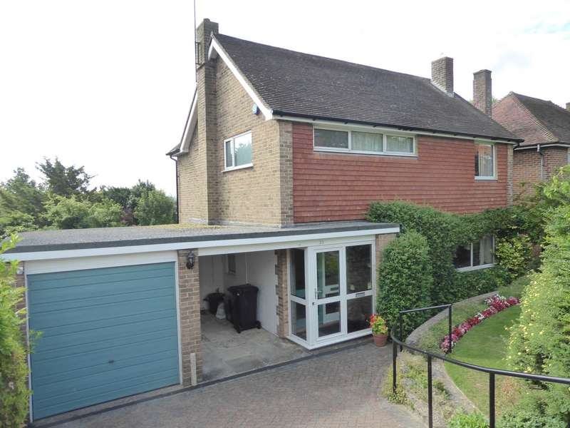 4 Bedrooms Detached House for sale in Cranedown, Lewes, BN7 3NA