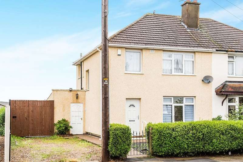 3 Bedrooms Semi Detached House for sale in Truro Avenue, Doncaster, DN2