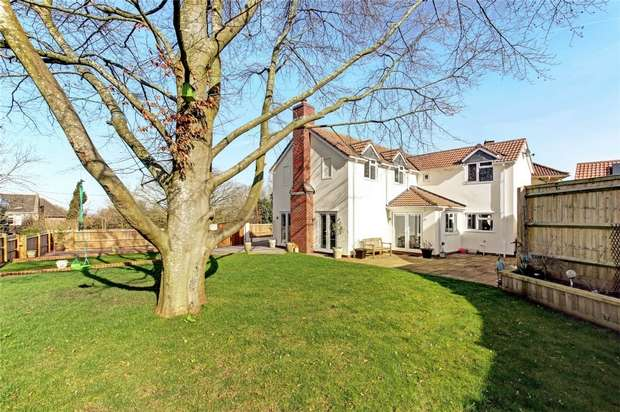 4 Bedrooms Detached House for sale in Rectory Road, Easton-in-Gordano, North Somerset