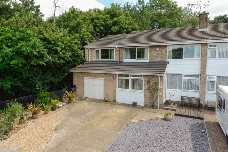 4 Bedrooms Semi Detached House for sale in Boxley Close, Penenden Heath, Maidstone, ME14
