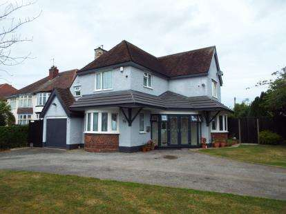 4 Bedrooms Detached House for sale in Bhylls Lane, Merry Hill, Wolverhampton, West Midlands