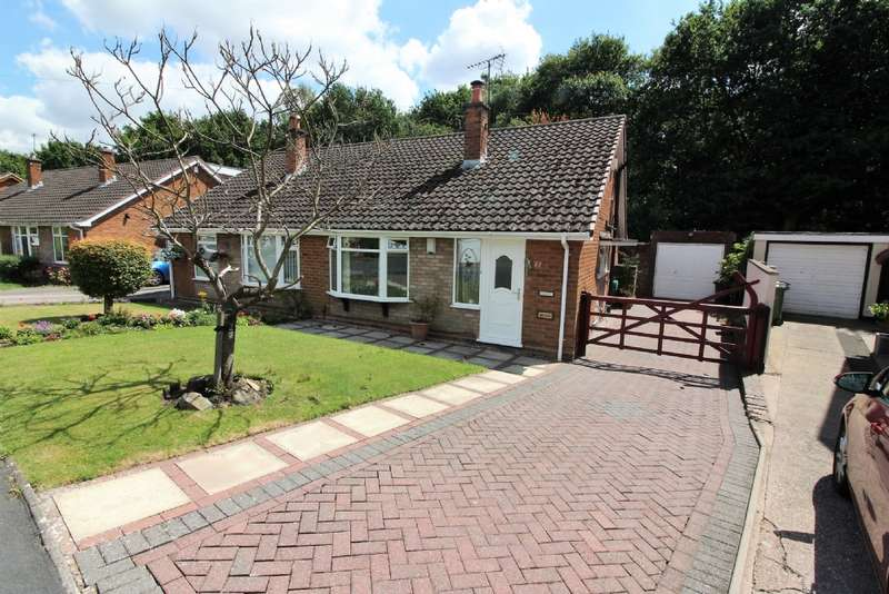 2 Bedrooms Semi Detached Bungalow for sale in Woodside Way, Willenhall
