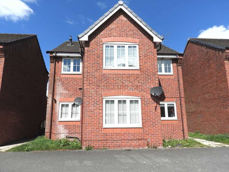 2 Bedrooms Flat for sale in Marnwood Walk, Kirkby