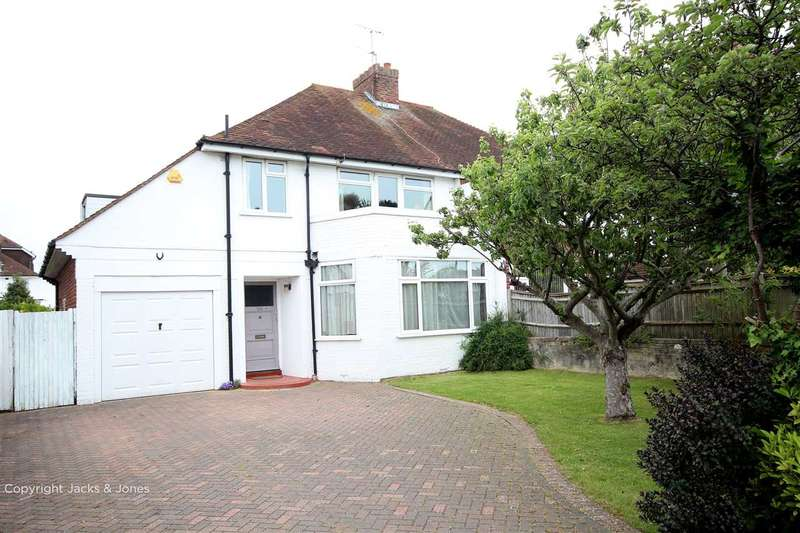 3 Bedrooms Semi Detached House for sale in Goring Road, Worthing