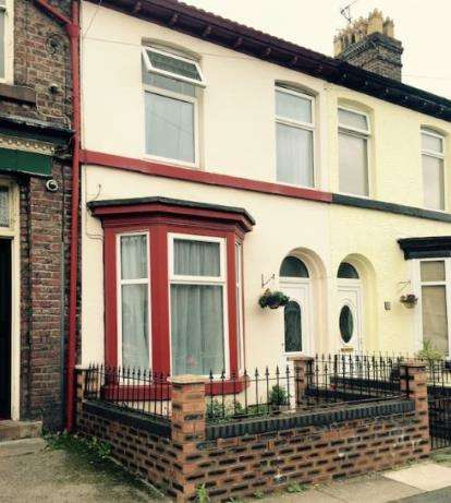 2 Bedrooms Terraced House for sale in Granville Road, Garston, Liverpool, Merseyside, L19