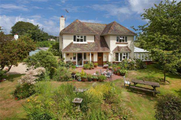 3 Bedrooms Detached House for sale in Knowle Road, Budleigh Salterton, Devon