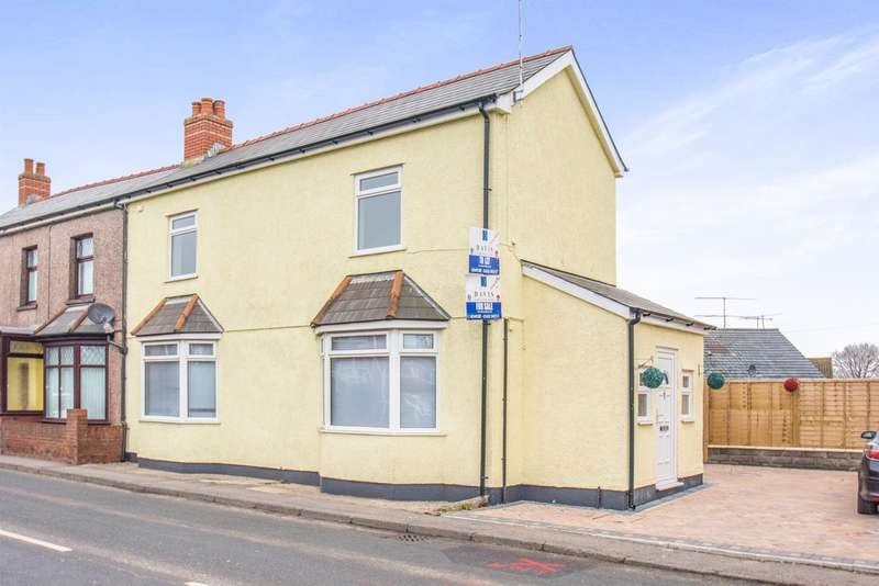3 Bedrooms Semi Detached House for sale in High Cross Road, Rogerstone, Newport