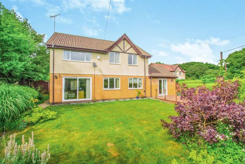 4 Bedrooms Detached House for sale in Brynteg Lane, Brynteg, Pontyclun