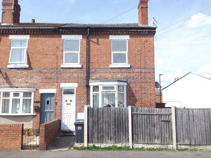 2 Bedrooms Terraced House for sale in A, South Street North, New Whittington, Chesterfield