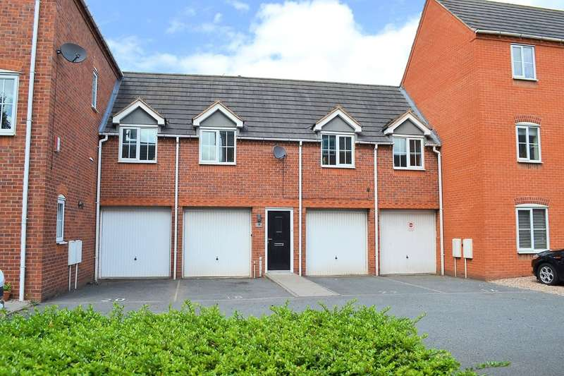 2 Bedrooms Flat for sale in Witley Drive, Lichfield, WS13 6FD