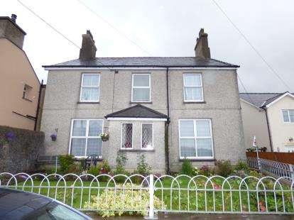 Detached House for sale in Deiniol Road, Deiniolen, Caernarfon, Gwynedd, LL55