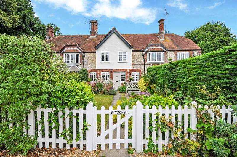 2 Bedrooms Terraced House for sale in Lower Farm Cottages, Madehurst Road, Madehurst, Arundel, West Sussex, BN18