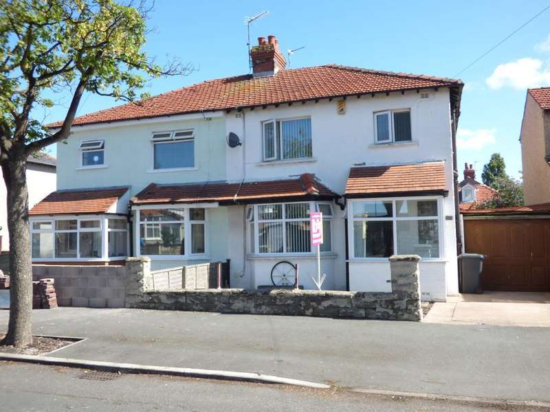 3 Bedrooms Semi Detached House for sale in Albert Road, Morecambe, Lancashire, LA4 4QX