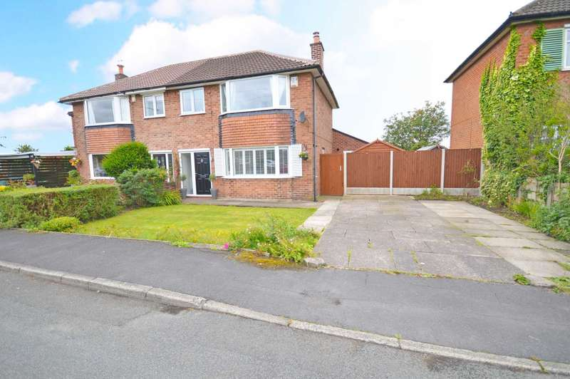 3 Bedrooms Semi Detached House for sale in Eastdowns Road, Cheadle Hulme