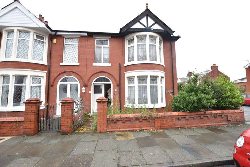 3 Bedrooms End Of Terrace House for sale in Scarsdale Avenue, Blackpool