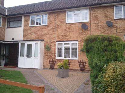 3 Bedrooms Terraced House for sale in Montgomery Drive, Cheshunt, Waltham Cross, Hertfordshire